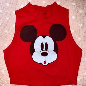 Mickey Mouse | Crop Top
